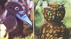 Meister Rabe und Onkel Uhu aus dem Märchenwald