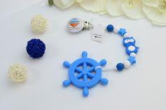 Håndlaget smokkesnor med biteleke laget av silikon perle Earrings, Jewelry, Silicone Rubber, Ear Rings, Stud Earrings, Jewlery, Jewerly, Ear Piercings, Schmuck