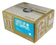 """Gifts for Teens:  College Care Packages.  """"Hugs in a Box"""" Cheer Up Survival Kit @ Dormify. #CarePackage #Nurture"""