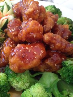Sesame chicken at Chen Yang Li in Bow, NH