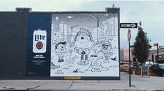 mybeerbuzz.com - Bringing Good Beers & Good People Together...: Miller Lite Launches New Mural Initiative In Brook...