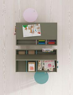 LAGRAMA - Kinderzimmerbeispiele 2 Magazine Rack, Cabinet, Storage, Furniture, Design, Home Decor, Modular Design, Modern Furniture, Closets