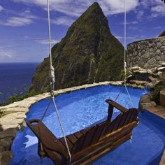 The Ladera Hotel in St Lucia