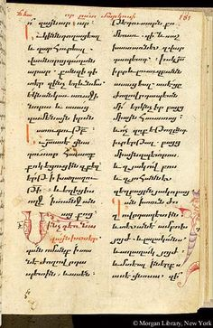 Gospel book, MS M.749 fol. 111r - Images from Medieval and Renaissance Manuscripts - The Morgan Library & Museum
