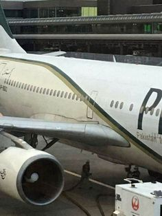 PHOTO PIA Flight #PK852 suffers structural damage near the door after a hard landing in Tokyo, Japan. (23-DEC-2016).