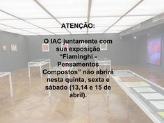 #iac #sp #exposição #feriado #belasartes #muba
