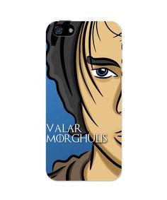 Valar Morghulis Arya Stark Game Of Thrones iPhone 5 / 5S Case