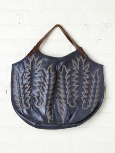 Western Leather Bag