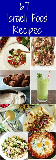 67 Israeli Food Recipes You Need To Try - Easy Ethnic Recipes Middle East Food, Middle Eastern Recipes, Kosher Recipes, Cooking Recipes, Healthy Recipes, Yummy Recipes, Comida Kosher, Kosher Food, Comida Judaica