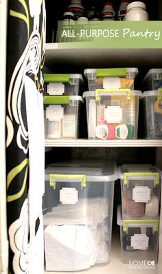 Home Made by Carmona: All Purpose Storage Pantry