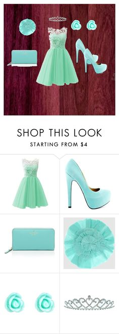 """blue princess"" by jasmijn5000 ❤ liked on Polyvore featuring TaylorSays, Kate Spade, Malababa, Monsoon and Kate Marie"