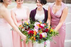 Indie Wedding Inspiration. Blog — Emily Oud Photography #bridsmaids #bridalparty #flowers