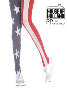 9dcfa6aebe3 House of Holland Stars and Stripes Tights Funky Tights