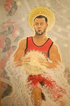 The Ascension of Roy: Acrylic On Canvas By Todd Walberg