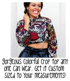 """colorful custom made crop top"" by skyecreativedesign on Polyvore featuring women's clothing, women, female, woman, misses and juniors"