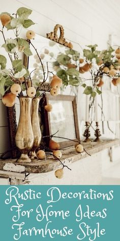 Rustic Decorations For Home Corrugated Metal Rustic Decorations For Home Ideas Farmhouse Style Kitchens Corrugated Metal, Farmhouse Style Kitchen, Rustic Decor, Kitchens, Room Decor, Table Decorations, Furniture, Ideas, Home