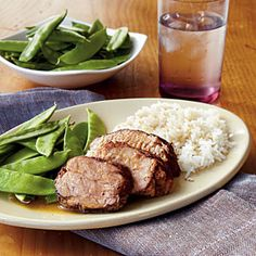 Plum Pork Tenderloin | CookingLight.com