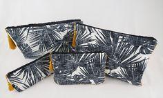 trousses Textiles, Creations, Handicraft, Objects, Fabrics, Textile Art