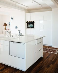 modern design prefab kitchen bamboo flooring recycled glass