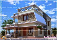 Nice Modern House With Free Floor Plan