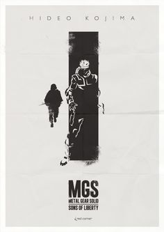Metal Gear Solid Sons of Liberty Poster...
