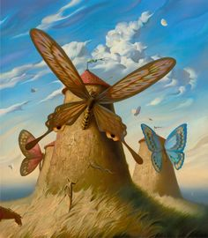 Vladimir Kush-This is probably the most beautiful re-imagining of Don Quixote I have ever seen.