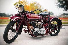 Bike 11 Vintage Indian Motorcycle Owned by Steve McQueen