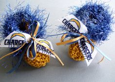 San Diego CHARGERS Football Fans Handmade Baby by ZZsTeamTime, $10.00
