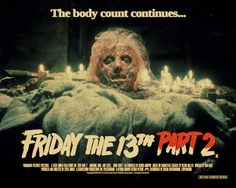 FRIDAY THE 13TH PART 2 (Steve Miner 1981) See/read more: http://horrorpedia.com/2012/10/14/friday-the-13th-part-ii/ #friday the 13th part 2 #Horrorpedia
