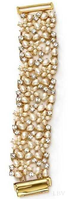 kate spade new york Mini Bouquet Mesh Bracelet | ✤ by Bella Donna  #luxury #jewels