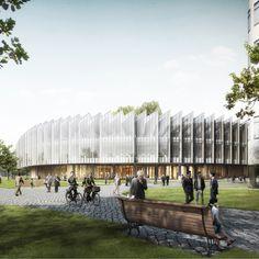 Herzog & de Meuron designs pharmaceutical research centre in Cambridge, UK