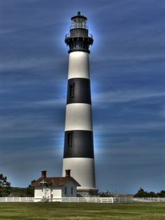 Bodie Island Light House  Bodie Island NC | Because I grew up seeing this on a regular basis |