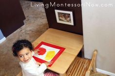 Montessori Monday - Montessori-Inspired Mess-Free Finger Painting and Color Mixing