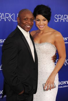 Pin for Later: 50+ Stars With Their Dear Old Dads Jordin Sparks Jordin's dad, former NFL player Phillippi Sparks, was her adorable date to the LA premiere of Sparkle in August 2012.