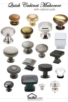 A quick cabinet makeover is just what you need before Spring arrives! Let us help you revive those boring kitchen cabinets with some new knobs, a DIY project anyone can do! #hardwarestorebillingsmt #paintsuppliesbillingsmt #acehardwarebillingsmt