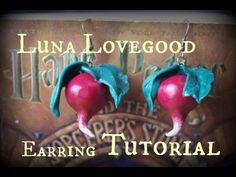 Luna Lovegood Earrings Tutorial - http://mysilverjewelry.org/earrings/luna-lovegood-earrings-tutorial/