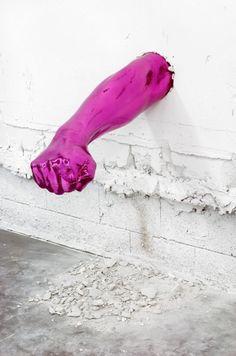 3d Street Art, Street Art Graffiti, Aaron Young, Modern Art, Contemporary Art, Instalation Art, Famous Art, Art Moderne, Public Art