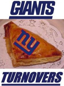 Did you hear what new #dessert Met Life Stadium is serving during the next New York #Giants #football game? Giants Turnovers!