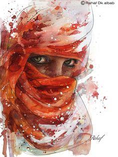 Arab woman Portrait on Behance