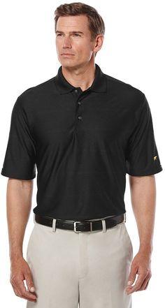 Jack Nicklaus Men's Jack Nicklaus Regular-Fit StayDri Striped Golf Polo