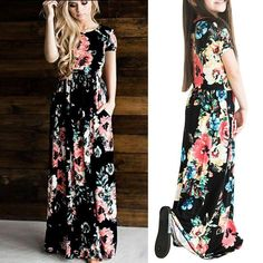 Mother daughter matching summer dresses – Fabulous Bargains Galore Maxi Dresses, Strapless Dress, Summer Dresses, Ladies Day Dresses, Girls Dresses, 8 Year Old Girl, Holiday Wear, Every Girl, Girl Outfits
