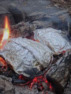 Camp Recipes | Foil Packet Camp Recipe & S'more Recipes