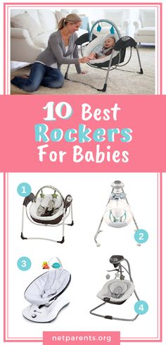 5894d7e348dd 8 Best Baby Swings and Bouncers images