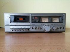 Stereo Cassette Tape Deck Toshiba PC-X12 - Strakonice - Bazoš.cz Cassette Tape, Decks, Front Porches, Deck, Terraces, Balcony