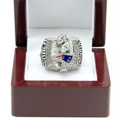 New England Patriots 2003 NFL Super Bowl XXXVIII Championship Ring
