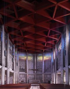 Fotografía: Arquitectura Religiosa Moderna por Fabrice Fouillet