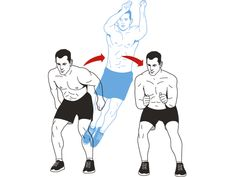 Side-to-Side Squat Jump