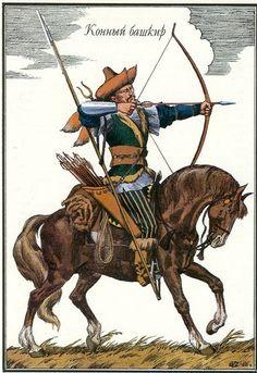 Bashkir Horseman -1812 Russian Cavalry