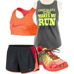 Workout Wear, created by jennifernoriega on Polyvore