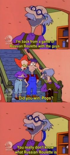 Rugrats Roulette, you really dont know how to play roullete